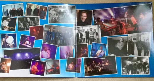 Vinyl album gatefold sleeve