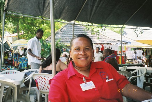 My guide in Jamaica