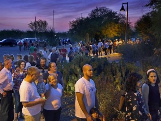 Arizona voting line 2016