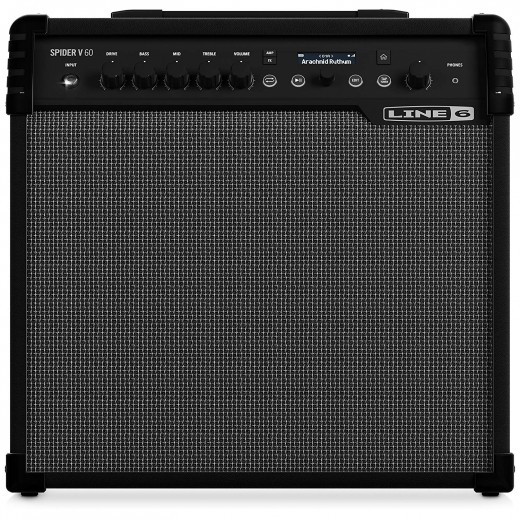 Line 6 Spider V Series Guitar Amps are among the best digital modeling amps in the world today.