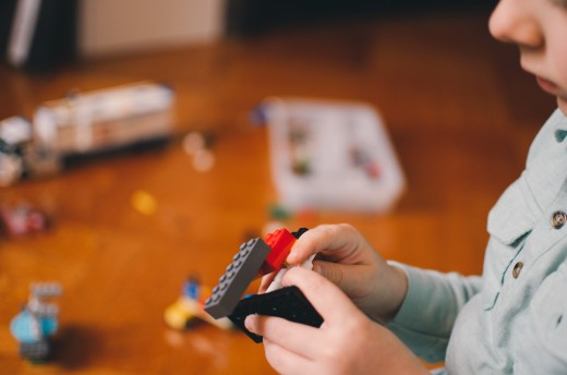Give a child some legos and their imagination and creativity take off.