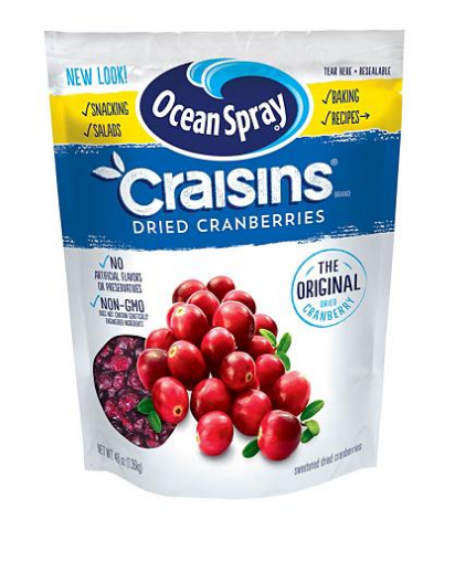 Cranberry/raisins