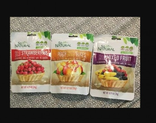 Healthy fruit snacks