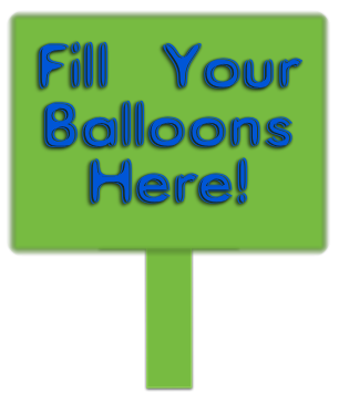 Water balloon stations mark the spot for fun!