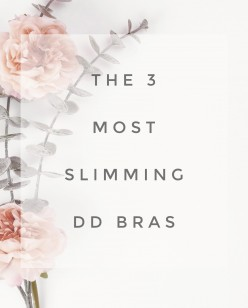 My 3 Favorite Bras That Make You Look Smaller