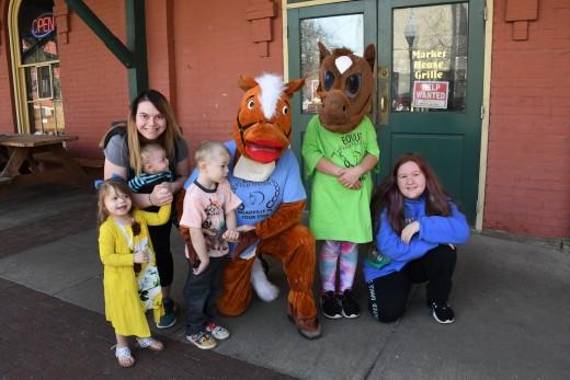 Family Fun at the EQUUS Film Festival Tour Stop in Meadville Pennsylvania.