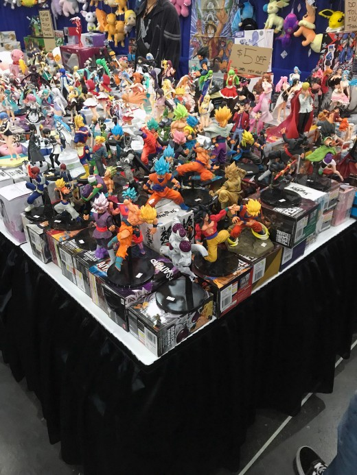 This guy's table at Comicpalooza was dangerous for me. I almost bought all of these.