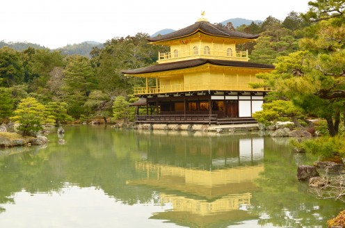 Gold Temple Pond