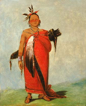 Poncha - Son of the Smoke, by George Catlin, 1835