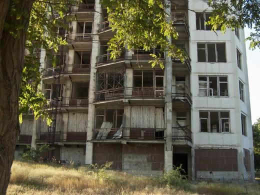 Abandoned sanatorium in Feodosia