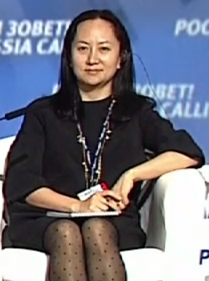 """Sabrina"" Meng, Huawei's Canadian Chief, now under threat of deportation to the USA accused of stealing secrets."