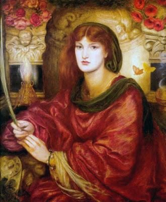 Sibylla Palifera by Dante Gabriel Rossetti