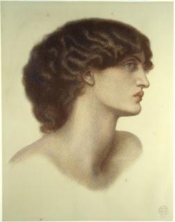 Perlascura by Dante Gabriel Rossetti circa 1871
