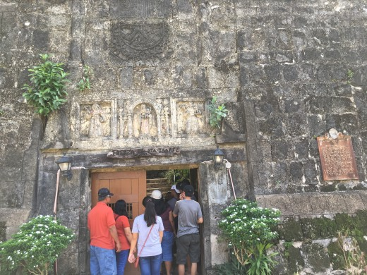 Entrance of Fort Santa Isabel, Taytay, El Nido