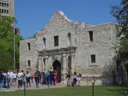 The Alamo is a popular tourist attraction.