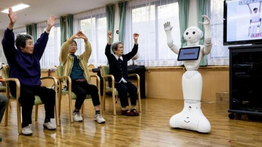 Care Robot in Elderly Home