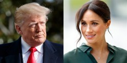 President Donald Trump Calls Meghan Markle