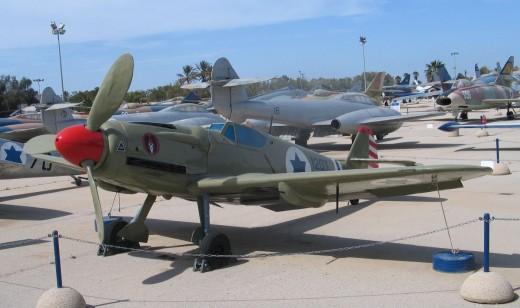 An Avia S199, Muzeyon Heyl ha-Avir, Hatzerim, Israel. 2006.  Photo by Wikimedia User:Bukvoed.