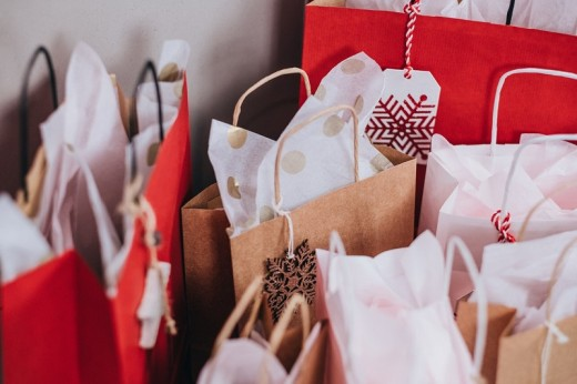 Christmas and birthdays are a great source of unwanted gift wrap.