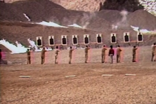 The Peace Force training