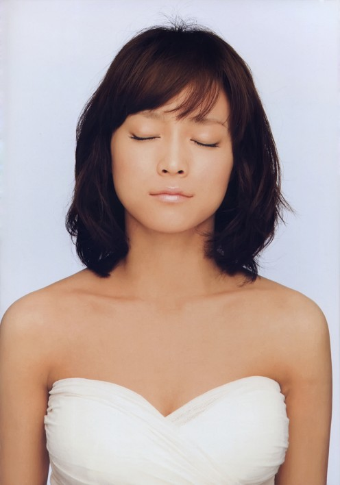 From Eri Kamei's amazing photo book called Thanks! It was released in 2010 shortly before she would have to retire from Morning Musume due to health issues.
