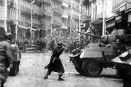 The Algerian War was perhaps the closest that France came to civil war in the 20th century (other than WW2) and certainly the period of time with the greatest turmoil between military and civilian leadership.