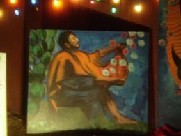 St. Juan Diego opening his cloak