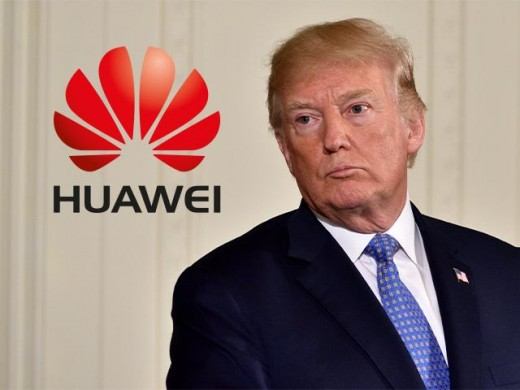 Trump: 'No problem' with UK over Huawei 5G debate