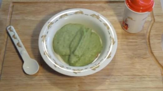 Broccoli Puree For Kids