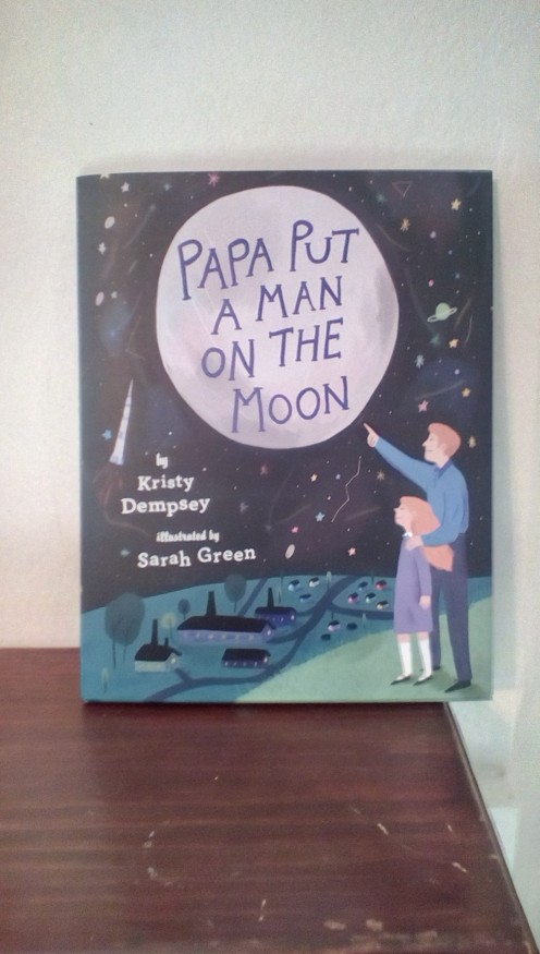 Special picture book commemorating this historical moon landing