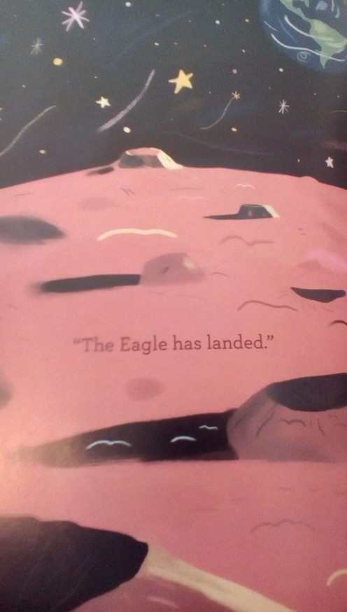 "Famous words ""the Eagle has landed"""