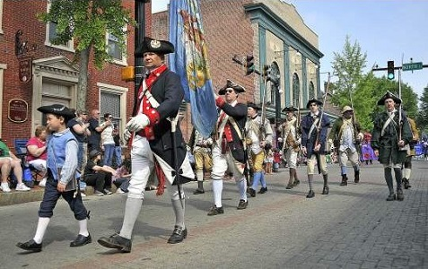 Celebration of Separation Day (the independence of Delaware before the Revolutionary War)  at First State National Historical Park.