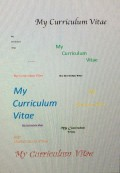 How to Write Your Curriculum Vitae and Stand out Against the Crowds
