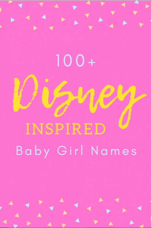 100+ Disney-Inspired Baby Girl Names