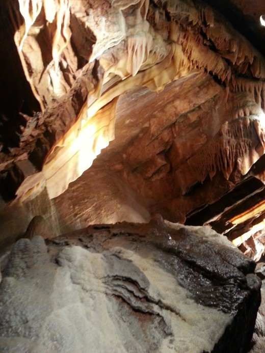 Shenandoah Caverns, Virginia, July 2013