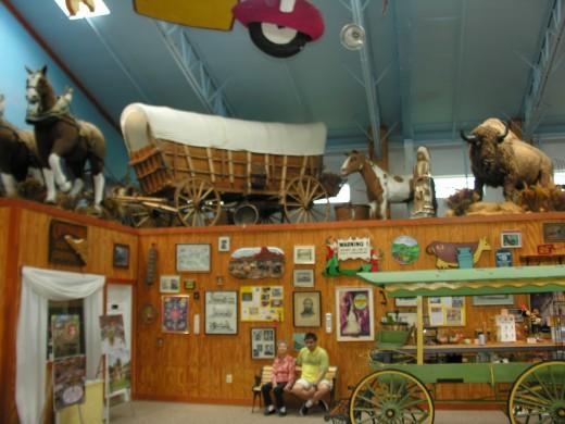 Inside the Yellow Barn, June 2017