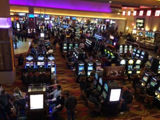 Floor At Indiana Grand Casino