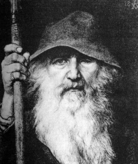 Gauti - better known as Odin 'the Wanderer' - tells Hunding he will spend time in Roskilde with Knut's sister