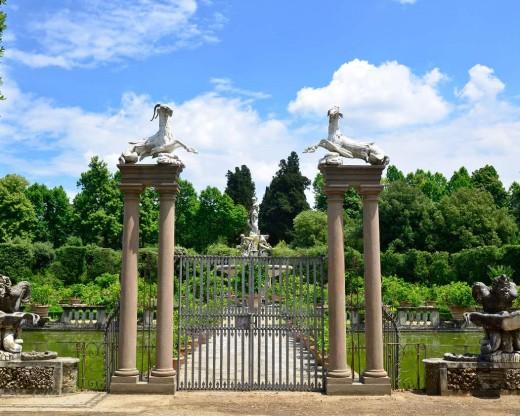 The Giardino di Boboli Park Florence