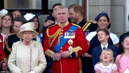 Famous Buckingham Palace
