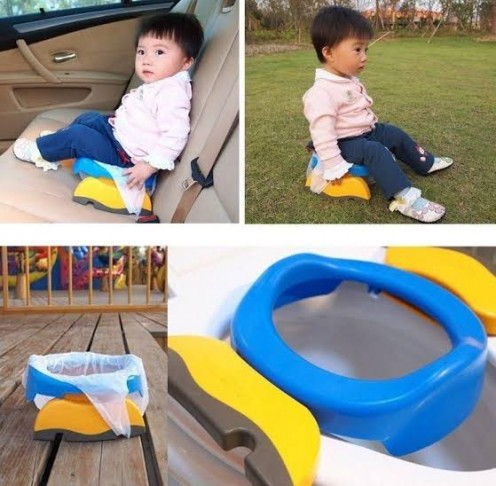 Portable toilet is very handy tool for parent