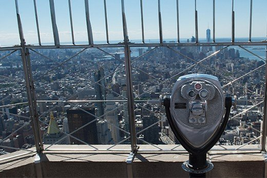 View looking south from 86th floor observatory--still one of New York's great perspectives