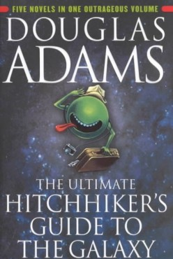 Hitchhiker's Guide To The Galaxy : If Monty Python Wrote a Book it Would End up Something Like This