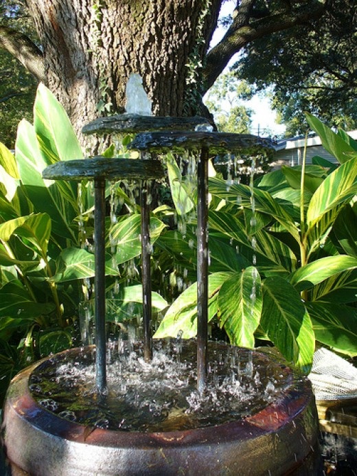 Fountains On Pinterest Garden Fountains Water Features