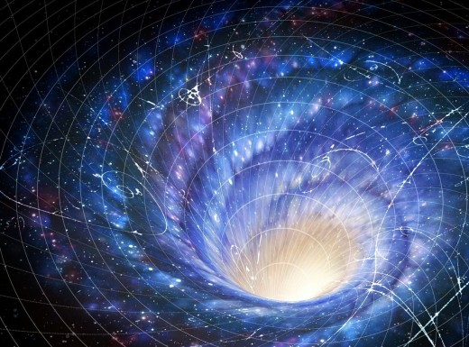 The theory assumes that the universe was born out of a star collapse and that the constellation of stars and the superfluous space resulting from the collapse caused the production of black matter.