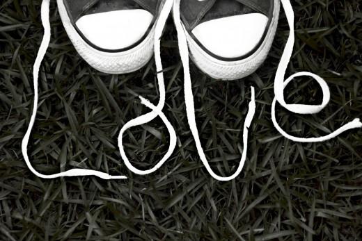 Frayed shoelaces have short lifespans!