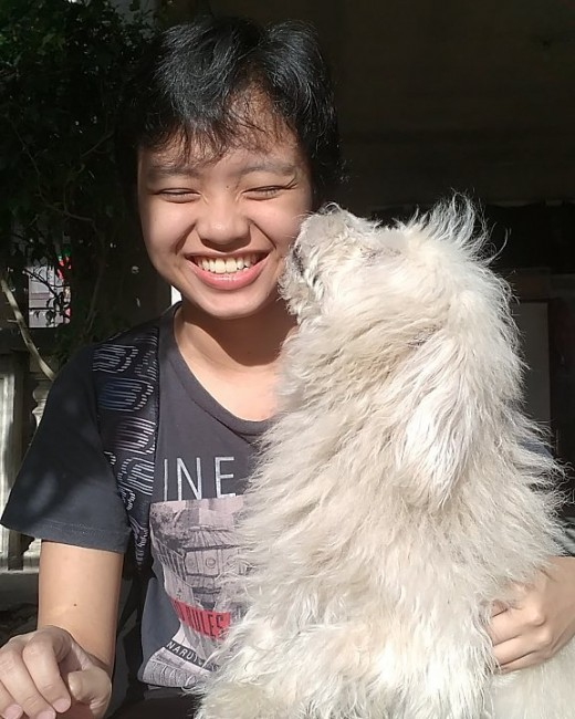 Kujo showing affection