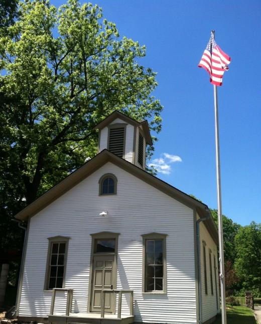 Dibble Schoolhouse at Ella Sharp Museum