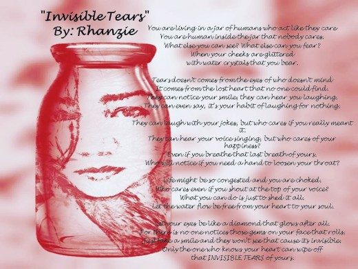 Unrevised version of Invisible Tears