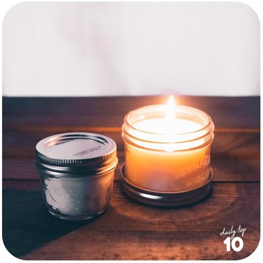 Weird Weight Loss Tip: Light a vanilla-scented candle after dinner.